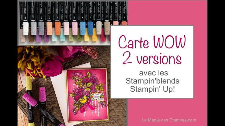 Comment mélanger les couleurs des Stampin'blends ensemble - www.lamagied...
