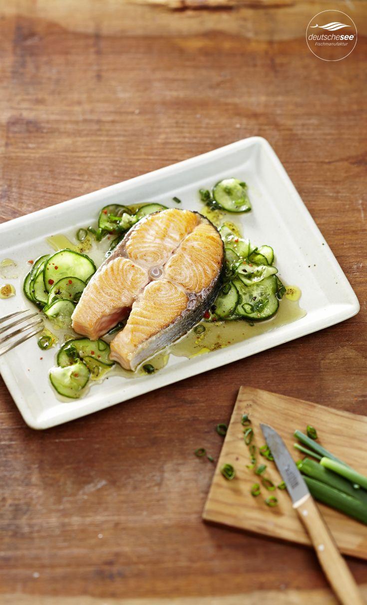 22 best rezepte mit lachs images on pinterest asian cucumber salad cod fish and delicious food. Black Bedroom Furniture Sets. Home Design Ideas