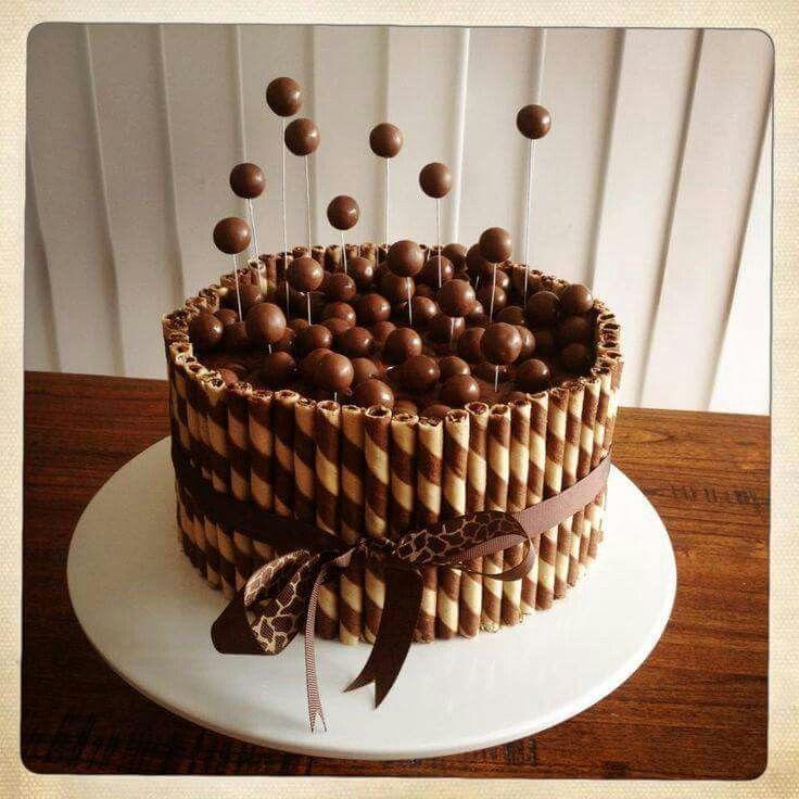 piroulines et malteaser cake