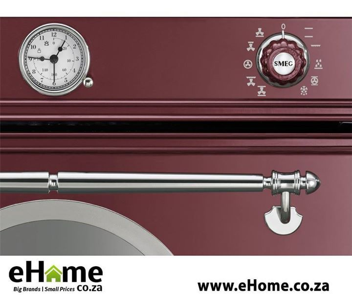 Get the Cortina Aesthetic Smeg range exclusively at eHome.co.za The harmonious balance of features and the careful combination of materials characterizes the Cortina aesthetics. Order today online at http://apost.link/2V0. #lifestyle #homeimprovement #smeg