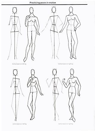 how to draw fashion model sketches basic - Google Search