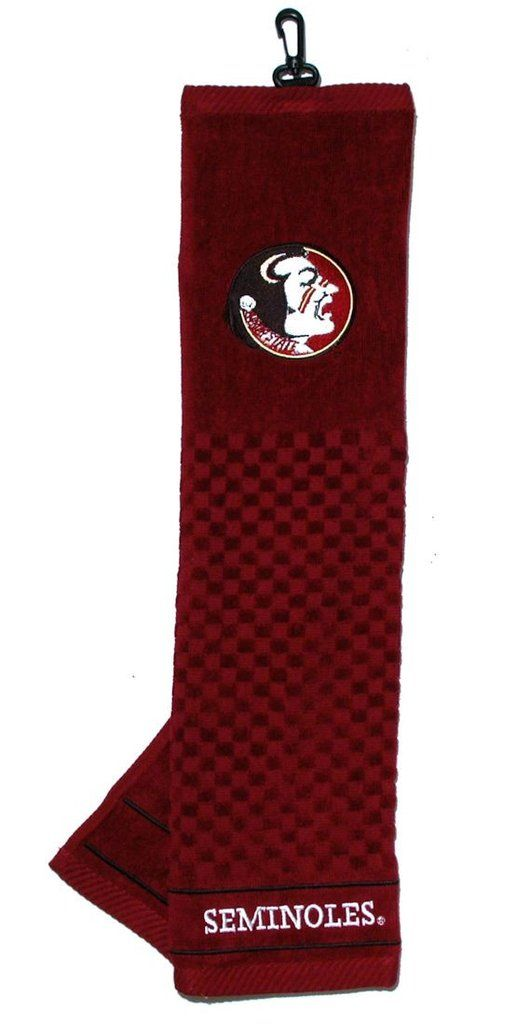 """Florida State Seminoles 16""""x22"""" Embroidered Golf Towel"""