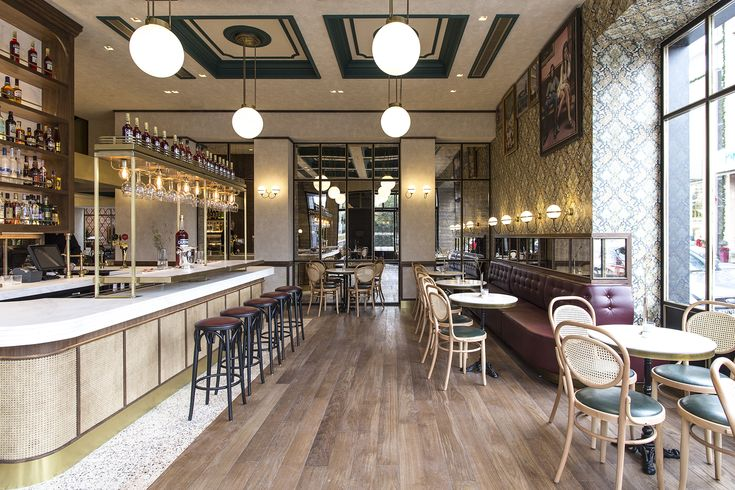 Papillon Bistrot Bar, Athens by Minas Kosmidis-Architecture In Concept  Photo by Ioanna Roufopoulou  #ArchitectureInConcept #MinasKosmidis