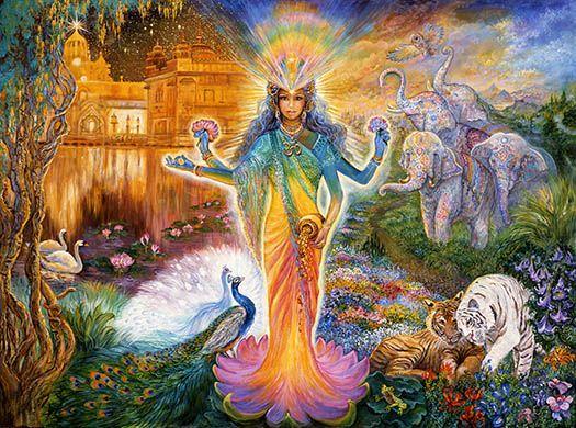 Lakshmi by Josephine Wall