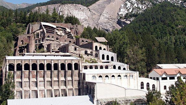 Art Nouveau cement plant in Spain.