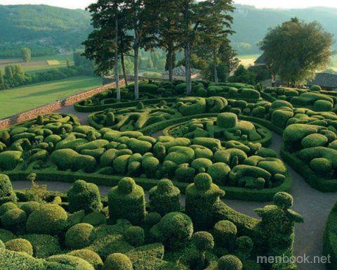 Красивые сады и парки (25 фото)