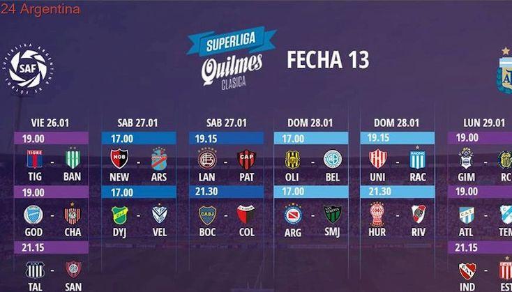 La Superliga anunció fecha y hora de todas las jornadas que restan (excepto de la última)