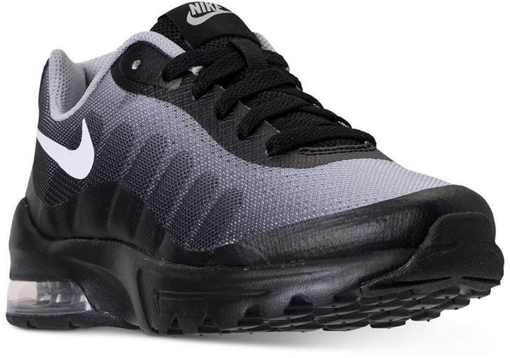 Big Boys' Air Max Invigor Print Running Sneakers from Finish