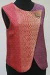 Wool/silk vest