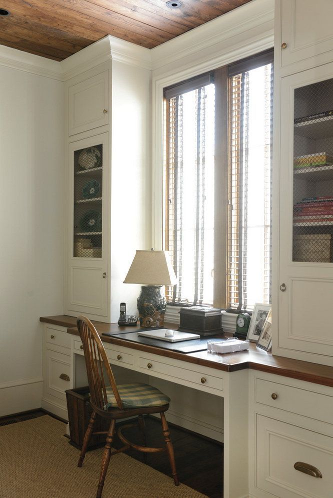 image result for built in desk under window with images on beautiful home desk organization ideas make comfortable what it will do for you id=71909