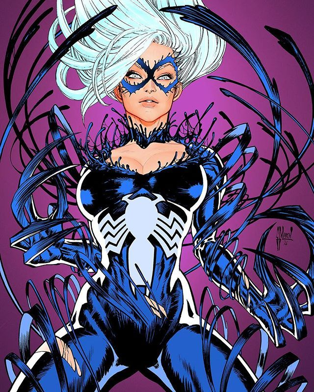My variant cover for AMAZING SPIDER-MAN 16! Available for preorder only at @comicxposure #spiderman #blackcat #venom #marvel
