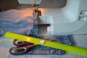 Как обрезать и подшить джинсы (Шитье и крой)