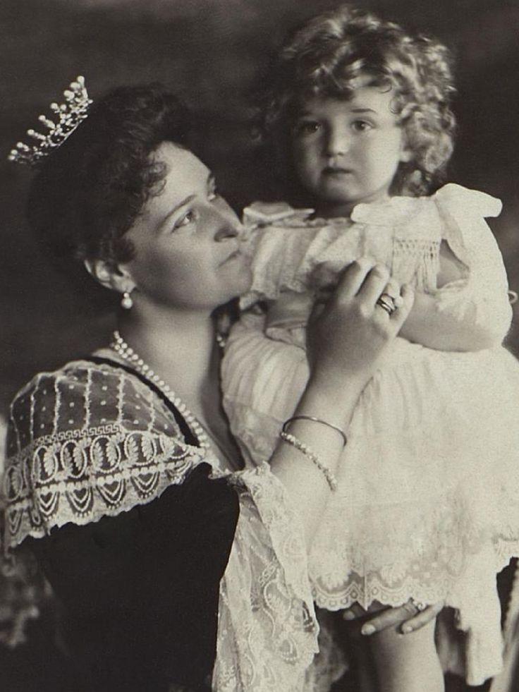 Alexandra Feodorovna and Alexei Nikolaevich