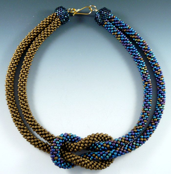 "Rona Loomis ""Knot"" necklaces"