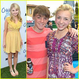 stefanie scott and her boyfriend 2013 | Peyton List & Stefanie Scott: Children Mending Hearts Event! | Peyton ...