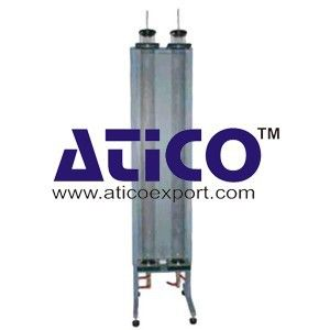Particle Drag Coefficient Manufacturer Supplier | Atico Export : The equipment consists of two precision glass tubes 1.5m long and 93mm inside diameter fixed vertically on a wall mounted backboard. A guide is provided at the top of each tube to facilitate the introduction of particles with the minimum of disturbance to the liquid. A sliding valve device at the bottom of each tube allows the particles to be removed with minimum loss of liquid…