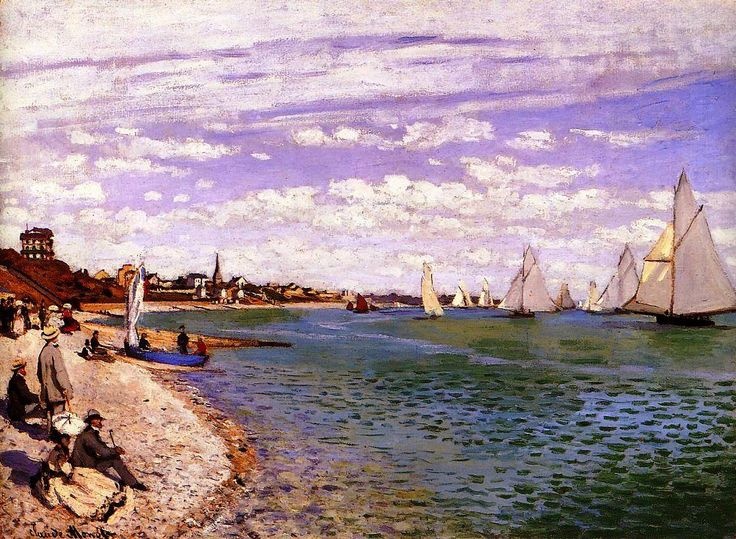Breathtaking Waterfront Paintings By Claude Monet To Get You Through The Day | http://thebrushstroke.com/breathtaking-waterfront-paintings-claude-monet-get-day/