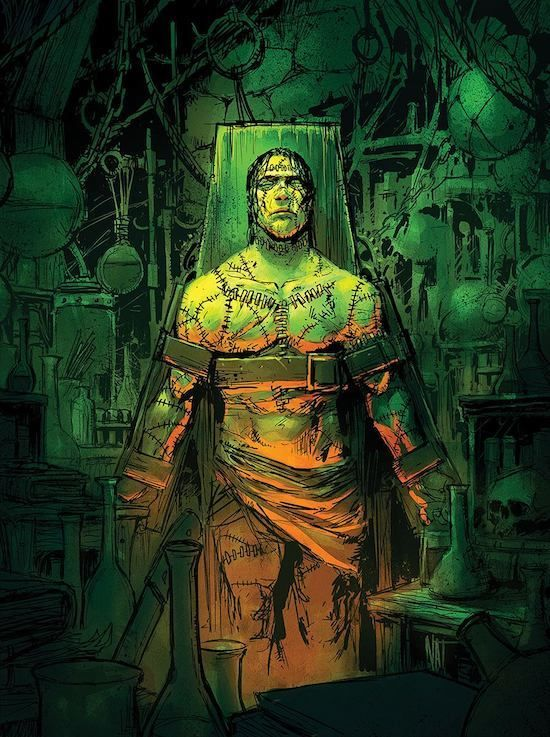 Pin by Colt LA on Fantsy concept | Frankenstein art, Frankenstein's