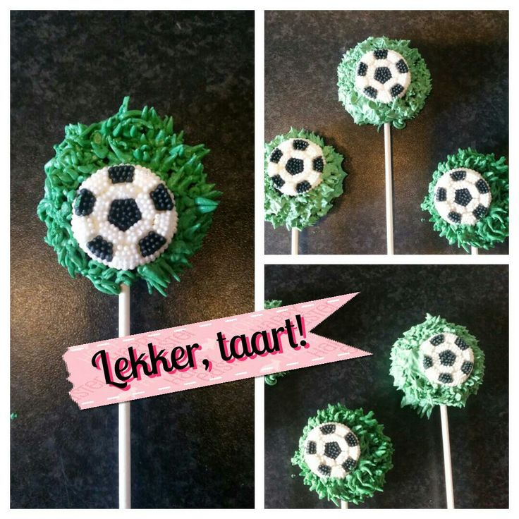 Oreo voetbal lolly's.