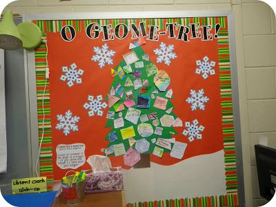 "Tales of Frogs and Cupcakes: ""O Geome-Tree"" Bulletin Board"