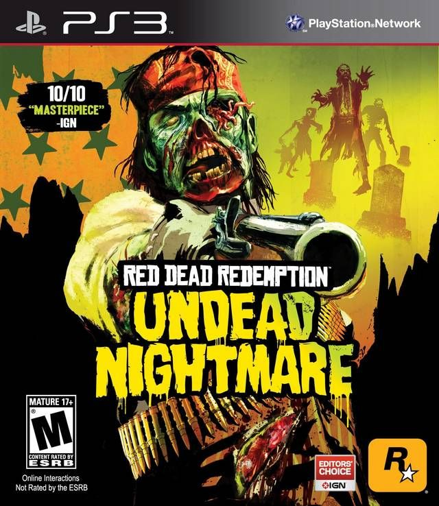 Dead but unfinished. Red Dead Redemption Undead Nightmare
