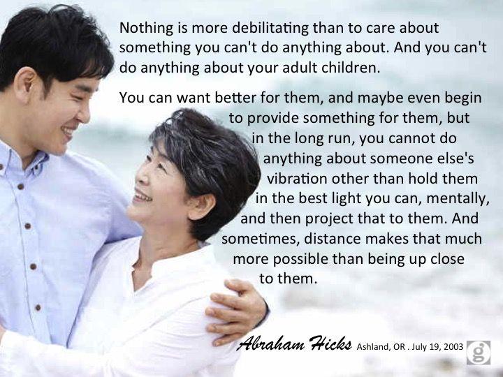 #abrahamhicks #relationships #distance