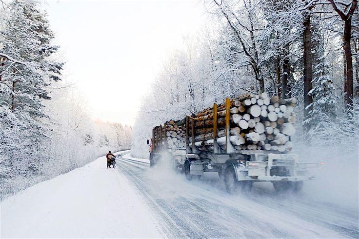 Cykling Karelia