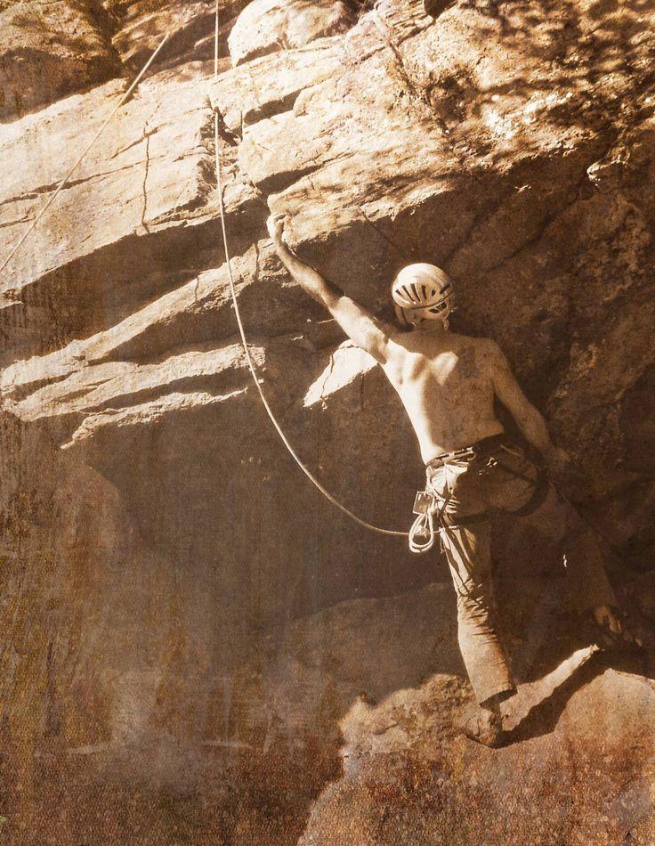 Sortie escalade à Val-David, Mont King