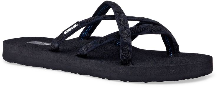 Teva Flip Flops - they dry SO quickly, and are still stylish with most anything.