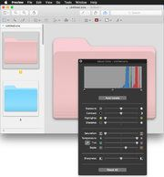 Apple's desktop operating system includes software to create new tints for desktop folders, but you can also jazz them up with apps and new icons.