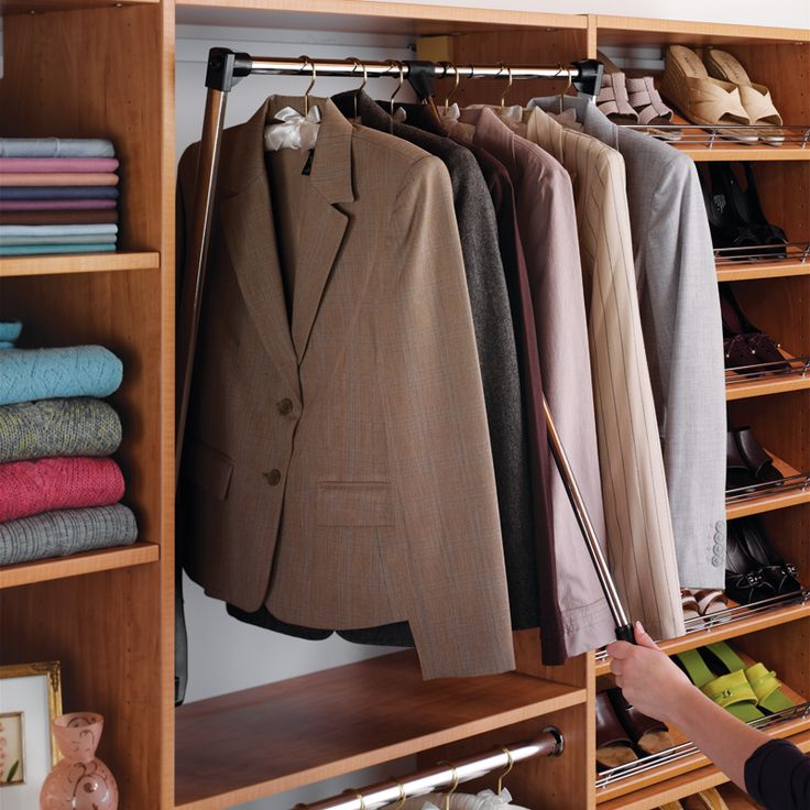 17 Best Images About Pull Down Closet Rod On Pinterest