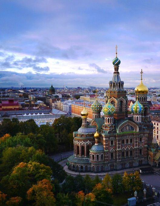 Best Cities for Book Lovers - St. Petersburg, Russia