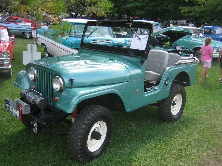 1967 Jeep CJ5 restoration: Some other Jeeps