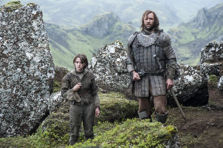 The Top 10 Greatest Moments From 'Game of Thrones' Season 4 Pictures - Arya Teams Up With the Hound Episode One: 'Two Swords'