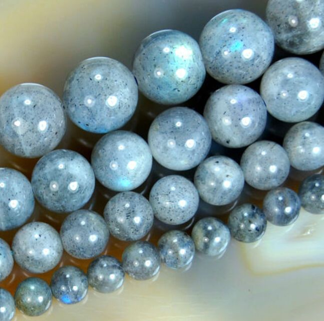">> Click to Buy << New 4mm 6mm 8mm 10mm 12mm Indian Labradorite Round Loose  Beads 15"" #Affiliate"