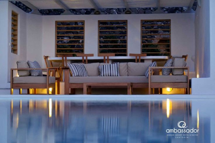 Welcome to Cyclades and the finest hospitality in Ambassador Aegean Luxury Hotel & Suites! ambassadorhotelsantorini.com/