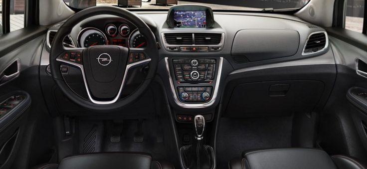 2017 Opel Mokka interior