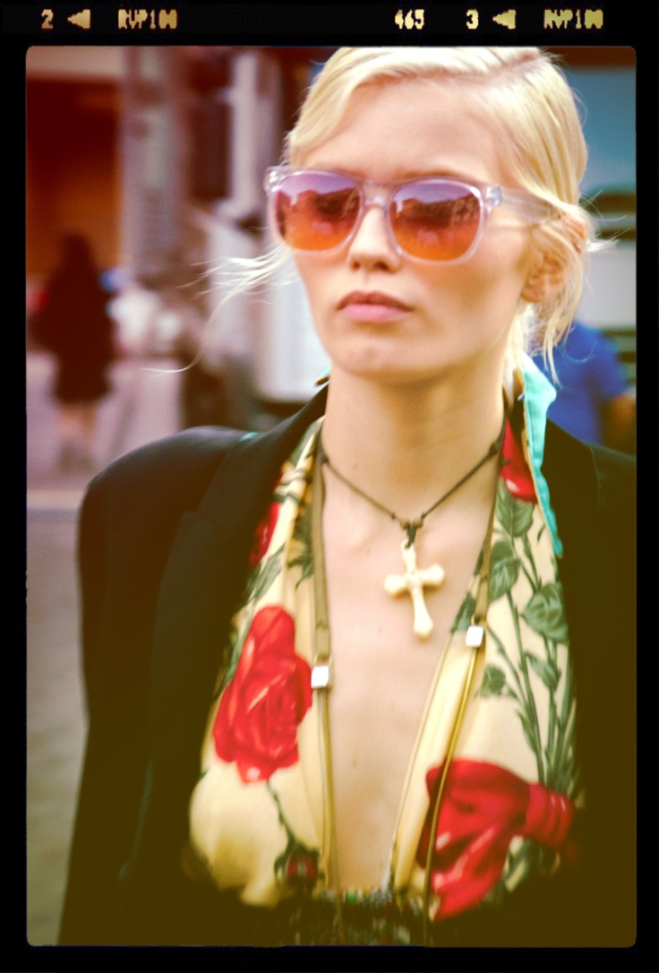 Abbey Lee Kershaw @ Outside of Prada/ Giack: Colors Style, Posts, Fashion Style Photography, Tanks