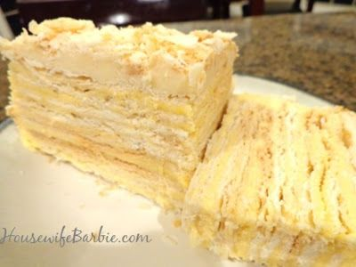 Lithuanian Napoleona - Lithuanian Torte. Check out Brigette's review of Rainbow Rowell's Attachments here: http://chaptersandscenes.wordpress.com/2014/06/28/brigette-reviews-attachments/
