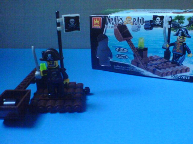 My Lego type Pirate set! - News - Bubblews