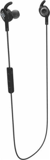 JBL - EVEREST 100 Wireless Earbud Headphones - Black - Front Zoom