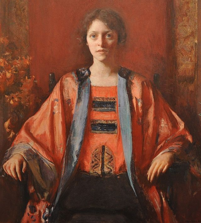 Portrait of Catherine Whyte by Frederick Bosley