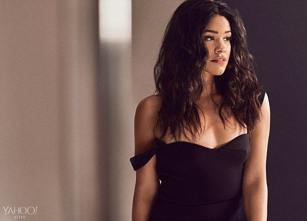 Sultry look: Gina Rodriguez stuns in a new photoshoot with Yahoo Style and talks about her...