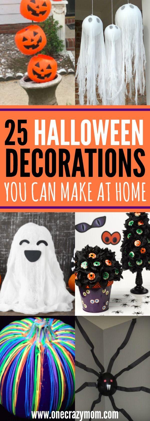 Diy halloween decor pinterest - Diy Halloween Decoration Ideas 25 Budget Friendly Ideas