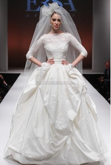 New York International Bridal Week #FabiolaDress