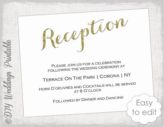 Reception Cards Template Free Luxury Wedding Reception Invitation Template In 2020 Wedding Reception Invitations Wedding Invitation Card Template Reception Invitations