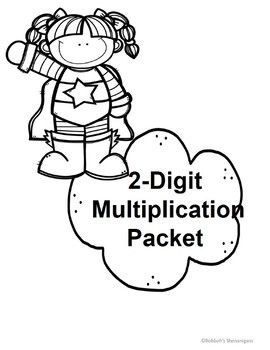 2-digit multiplication that includes 2-digit by 1-digit, 2-digit by 2-digit, and 3-digit by 2-digit multiplication problems.