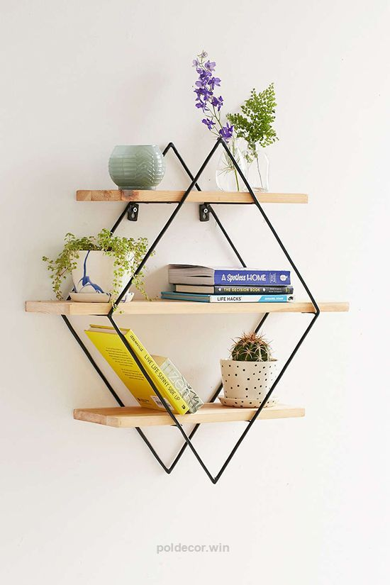 Check out this diamond shelf from urban outfitters The post diamond shelf  from urban outfitters\u2026