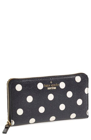 kate spade new york 'cedar street - lacey' zip around wallet available at #Nordstrom