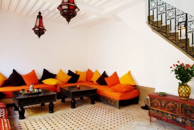 The Moroccan Living Room Design Character And Elegance Character